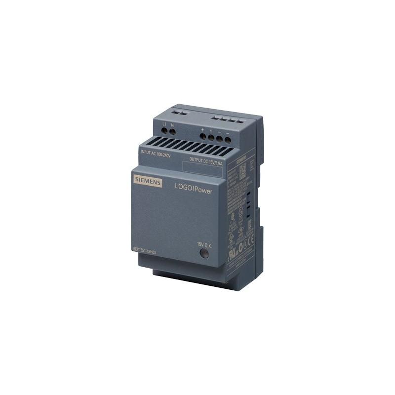 Siemens 6EP1351-1SH03 LOGO!POWER 15 V/1,9 A FUENTE ALIMENT. ESTABILIZADA