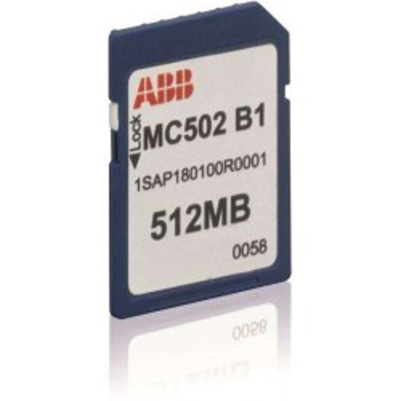 MC502 ABB SD Memory Card...